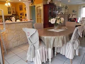 nouvelle housse photo 1 10 voila j39ai trouve de With housse pour chaises salle manger pour deco cuisine