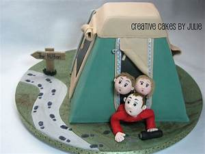 1000+ images about Camping Cakes on Pinterest | Campers ...