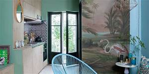 deco vert associer le vert quelle piece accepte le vert With deco entree de maison 13 vert deco de la peinture verte pour decorer son
