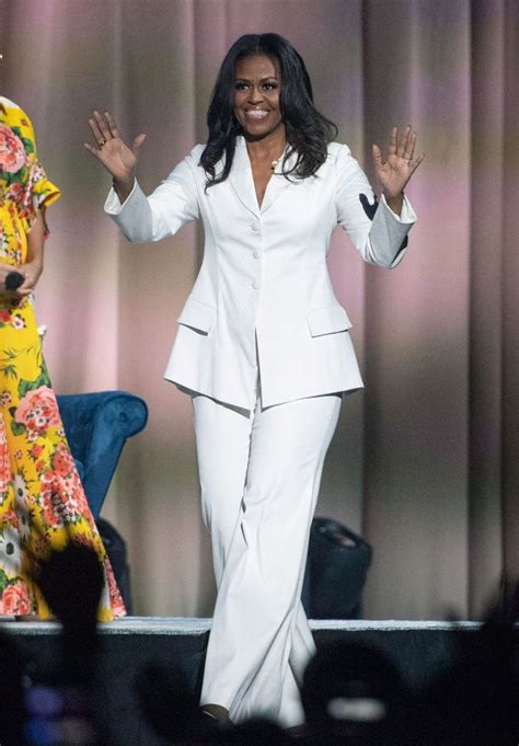 obama michelle tour outfits pantsuit