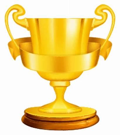 Cup Golden Transparent