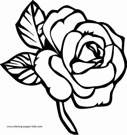 Coloring Pages Nature Flowers Printable Flower Pretty