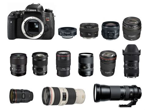 Best Lenses for Canon EOS Rebel T6s / T6i / 760D / 750D