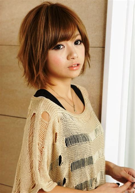 pictures   short japanese hairstyle
