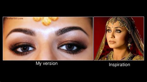 Rani Mukherjee Inspired Eye Makeup Youtube