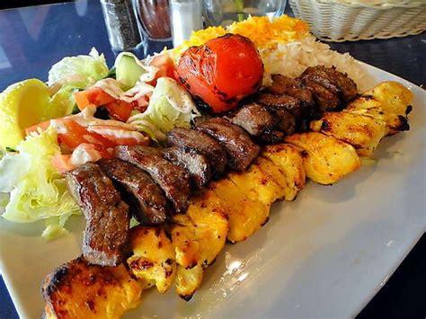 cuisine kebab chelo kabab bakhtiari food food delicious