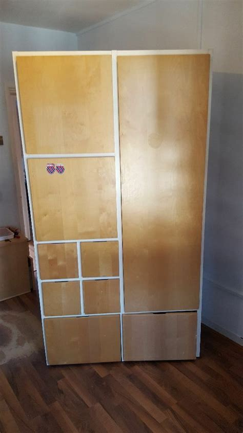 Small Width Wardrobes by Ikea Wardrobe Sturdy And In Condition 110 Width