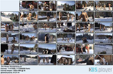 Pounding In A Winter Wonderland the winter wonderland nudism and naturism