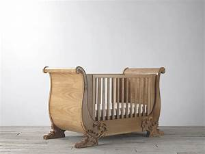 Bambizi | Windsor Oak Cot Bed