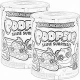 Coloring Slime Poopsie Surprise Unicorn Colorear Unicornio Dibujos Lol Personajes Ese sketch template