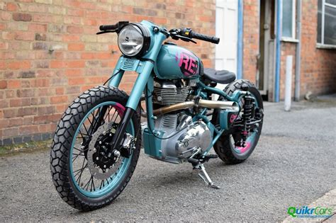 factory built custom royal enfield unveiled in uk