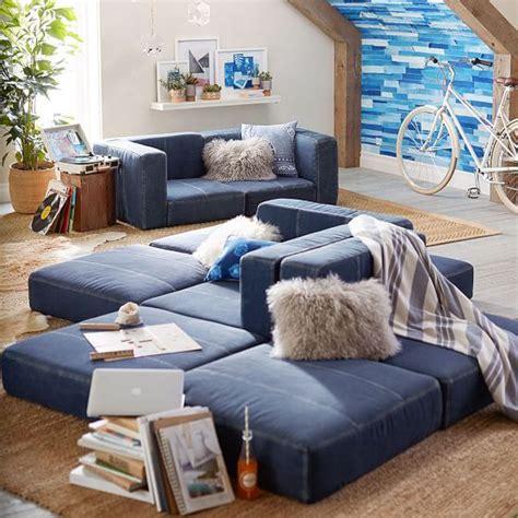 build   cushy sectional living room teen