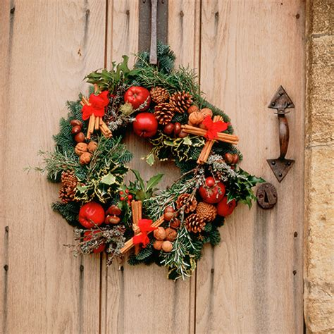 rustic christmas wreaths ideal home