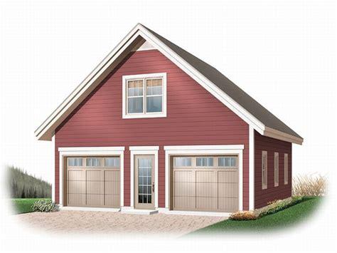 Garage Loft Plans  Detached 2car Garage Loft Plan # 028g