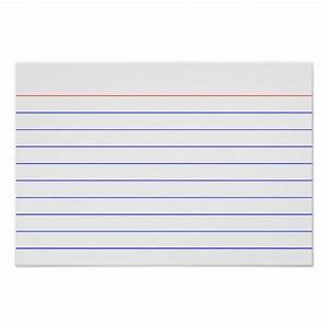 8 best images of printable index cards index card With 5 x 8 index card template