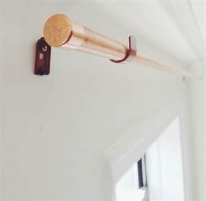 DIY Copper Pipe Curtain Rod and Bracket — Anne Zeygerman
