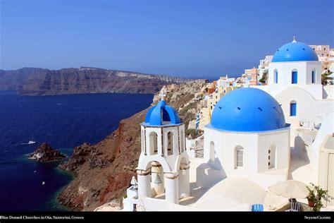 santorini greece desktop wallpaper  web