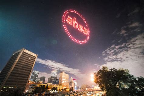 absa launches  logo  drone light show  twitter