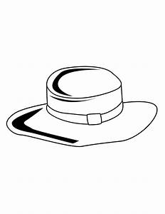 Snowman Top Hat Coloring Page - Cliparts.co