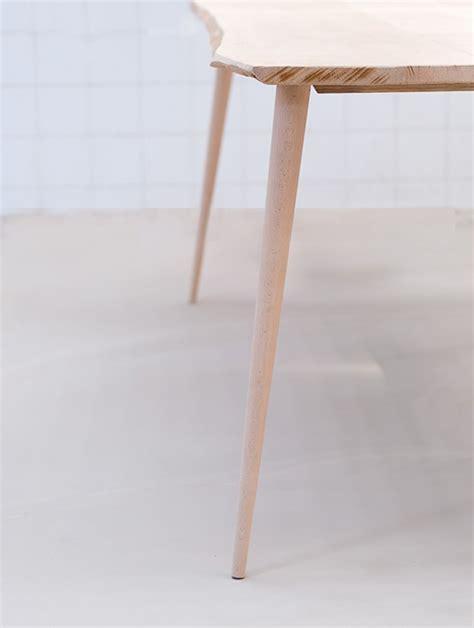 pied de bureau design sti k fabricant de pieds de table et plateau en bois design