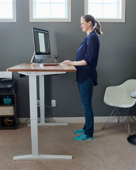 standing desk foot pad standing desk for a home office of decorating by