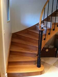 Poteau En Fer : photos escalier menuiserie plaine fabricant d ~ Edinachiropracticcenter.com Idées de Décoration