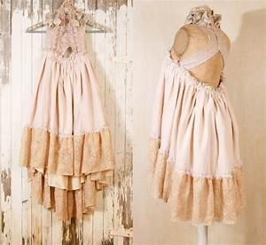 hippie boho wedding dress bohemian wedding dress by mynoush With boho hippie wedding dress