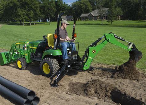john deere  small tractor  backhoe rent equip austin