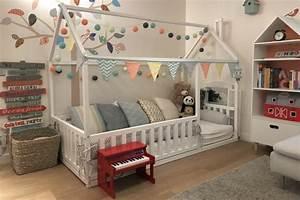 Lit Montessori Cabane : 1001 id es pour une chambre avec lit montessori ambiances ~ Melissatoandfro.com Idées de Décoration