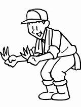 Farmer Coloring Pages Farmers Gardener Dell Drawing Cartoon Farm Clipart Cliparts Print Tools Colouring Coloringpagebook Printable Library Clip Advertisement Little sketch template