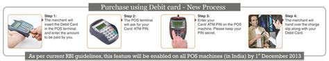 Atm Pin Mandatory For Purchase Using Debit Card