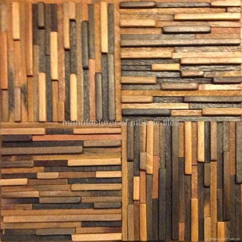 mosaic wood wooden mosaic old ship wall panels old ship wood gimare china manufacturer wall tile