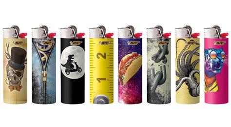 bic lighter designs bic special edition millennial series convenience news