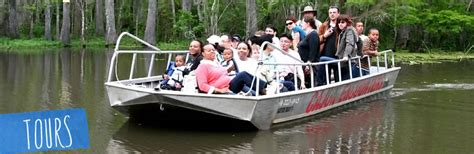 fan boat tour new orleans new orleans sw tours