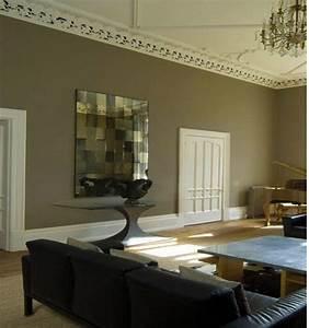 beautiful rideaux pour salon noir blanc pictures With la couleur taupe se marie avec quelle couleur