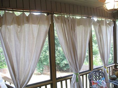 Outdoors Curtains : Outdoor Patio Privacy Curtains