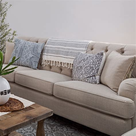 Linen And Loveseat by Margaret Linen Sofa Home