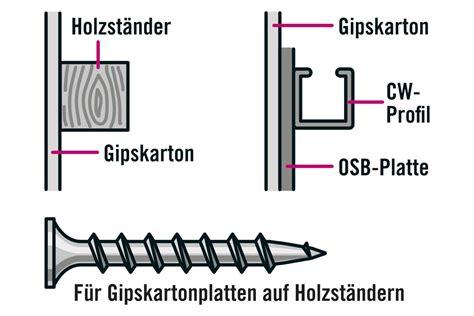 welche schrauben für osb platten 22mm w 228 nde einziehen durch trockenbau hornbach