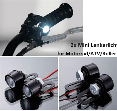 led zusatzscheinwerfer motorrad 12v motorrad lenker licht led scheinwerfer