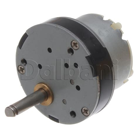 Electric Motor Torque by 12v Dc 130 Rpm High Torque Gearbox Electric Motor Ebay