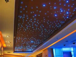 W colors sparkle color changing fiber optic ceiling