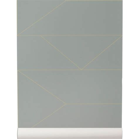 woven gray  gold walllpaper lines collection