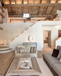 1001 conseils et idees pour amenager un salon rustique for Tapis de sol avec canape ressorts ensachés