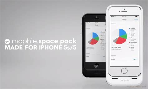 how to get more storage on iphone 5 mophie s new space pack cases add battery and storage
