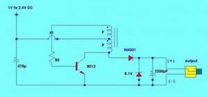 Cell Phone Charger Using 1 5v Battery Circuit - Power Supply Circuit - Circuit Diagram
