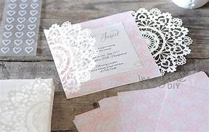 how to make arabesque laser cut invitation imagine diy With laser cut diy wedding invitations uk