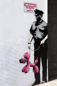 Police Street Art Banksy