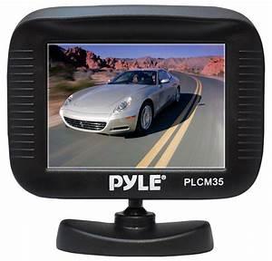 Amazon Com  Pyle Plcm35r Vehicle Rearview Backup Camera  U0026 Monitor System  Night Vision