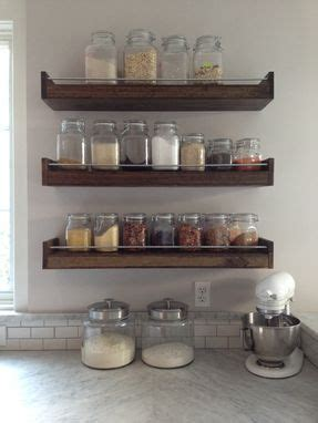 Floating Spice Rack by Made Industial Floating Shelf Industrial Spice Rack