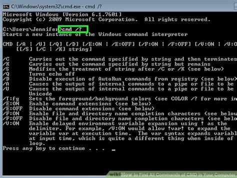 How To Find All Commands Of Cmd In Your Computer 8 Steps